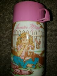 Vintage Junior Miss Aladdin Lunchbox Thermos With Cap