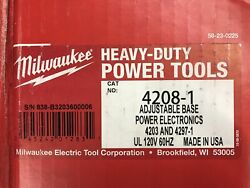 Milwaukee 4208-1 120v Ac Adjustable Position Electromagnetic Drill Press