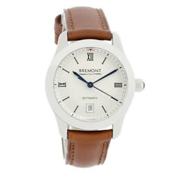 Bremont Ladies Chronometer Stainless Steel Automatic Watch Solo-32 Lc White