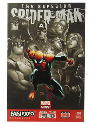 Superior Spider-man 8 Vancouver Fan Expo Exclusive Variant Humberto Ramos