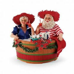 Dept 56 Possible Dreams Hot Tub Party Santa And Mrs. Claus 6008564 By The Sea 2021