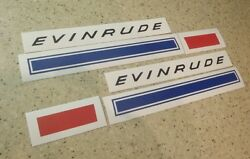 Evinrude Vintage 1 Hp/1.5 Hp Outboard Motor Decals Free Ship + Free Fish Decal