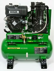 New John Deere 30 Gallon Two Stage Diesel Air Compressor Ac2-30kds