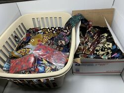 Vintage Lot Of 125 Men's Novelty Neckties New Old Stock Wholesale, Resellers Lot