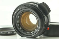 【near Mint】 Leica Summicron-m 35mm F/2 3rd King Of Bokeh Made In Canada Japan