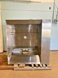 Captive-air 6024nd Hduty 60andfrac12w Type 1 Restaurant S/s Exhaust Hood And Ansul Area