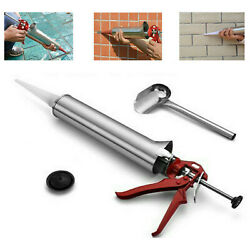 Mortar Pointing Grouting Gun Sprayer Applicator Tool For Cement Lime Nozzle Kit