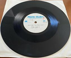 Pixies Here Comes Your Man Rare 10 Acetate 1-sided Promo Single Atlantic Master