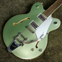 Gretsch G5622t Electromatic Center Block Double-cut With Bigsby Aspen Green