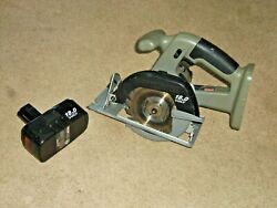 Craftsman 18 Volt Cordless Trim Saw And Good Batteryno Charger