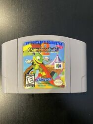 AUTHENTIC Chameleon Twist 2 Nintendo 64 Tested Working