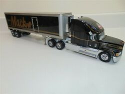Franklin Mint Mack Conventional Tractor/sleeper Cab W Refrigerated Trailer 132