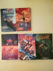 Thor By Jason Aaron Complete Collection Vol 1+2, Hardcover Vol 2-4