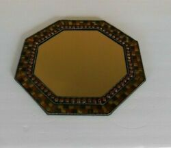 Partylite Global Fusion Stained Glass Mosaic Wall Mirror Or Tray