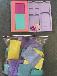 Lot Of Vintage Fashion Plates - Includes 1978 Tomy Set And More