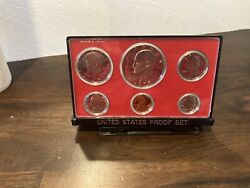 1977 S Us Mint Proof Coin Set With Black Box
