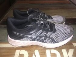 Asics Womanand039s Fuzex Lyte 2 T769n Size 10 Running Athletic Shoes Black White
