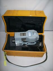 Zeiss Eth2 Electronic Theodolite Carrying Case Parts Only- Free Shipping