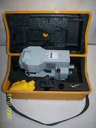 Zeiss Eth2 Electronic Theodolite Carrying Case W/ Accessories- Free Shipping