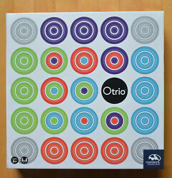 Otrio Board Game From Marbles Brain Workshop - New Sealed