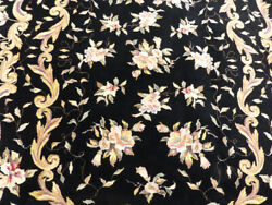 6and039x9and039 French Aubusson Design Sino 500 Kpsi Stunning Hand Knotted Wool Pile Rug