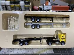 Ho Scale Con Cor Ryder Tractor Trailer With Container Trailers