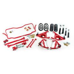 Umi Gbf003-2-r 78-88 G-body Stage 3 Kit 2 Inch Lowering Red