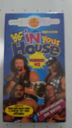 Wwf In Your House Volume 2 1995, Vhs Factory Sealed Diesel Shawn Michaels