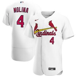St Louis Cardinals Yadier Molina 4 Nike Official Mlb Authentic Player Jersey