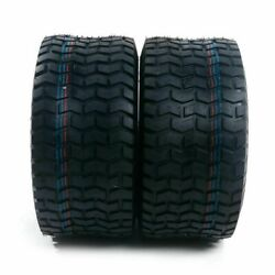 Pair Garden Tractor Lawn Mower Tires Tubeless 23x10.50-12 4pr P512 Od 22.80in