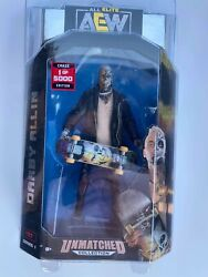 Aew Unmatched Series 1 Darby Allin 1 Of 5000 Chase Edition Jazwares With Rsc