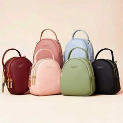 Mini Backpack Purse for WomenSmall Leather Crossbody Red Size Small R9hn $11.99