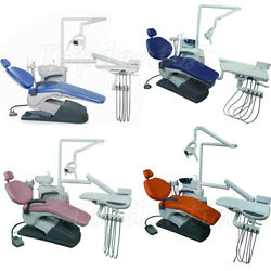 Dental Unit Chair Computer Controlled Electric Valve Dc Motor Hard Leather Fda