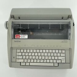 Brother Gx-6750 Daisy Wheel Electric Correction Typewriter W/cover Parts Only