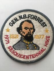 Vintage 1971 Bsa Boy Scouts Nathan Bedford Forrest Sesquicentennial Hike Patch