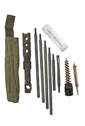 M14 Buttstock Cleaning Kit With Steel Rod Bore Brush Combo Tool And More New