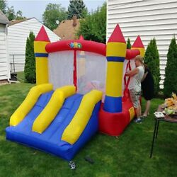 Inflatable Bounce House Water Slide Pool Bouncy Castle For Kids Christmas Gift