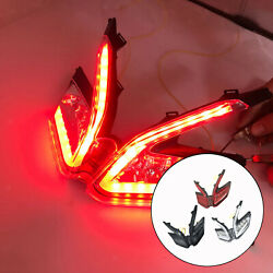 Motorcycles Led Rear Tail Light License Plate Light Parts For Ducati 899 959