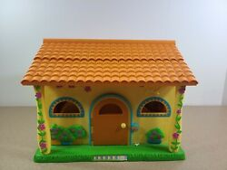 2003 Dora The Explorer Pop Up Talking Doll House Only Complete Everything Works