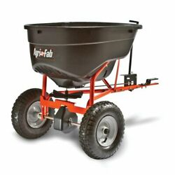 Pull Behind Tow Spreader Mower Tractor Seed Fertilizer Hitch 130 Lb Agri-fab