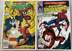 The Amazing Spider-man Set Of Two 361 And 362 9.8 Worthy Hot Comics 🔥🔥