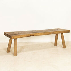 Rustic Slab Wood Coffee Table Old Work Table From Hungary