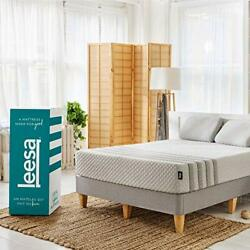 Hybrid 11 Mattress Memory Foam Bed-in-a-box Size, White And Gray Queen