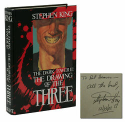 Drawing Of The Three Signed By Stephen King First Edition 1987 1st Dark Tower