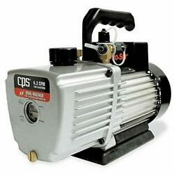New Open Box Cps Products Vp8d Pro-set Two Stage Vacuum Pump, 8 Cfm, 10 Micron