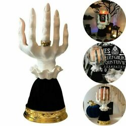 Halloween Witch Hand Candlestick Holders Creative Candle Holder Home Decor