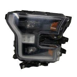 Fo2503371 New Replacement Right Led Headlight Lens/housing Fits 16-17 F-150 Capa