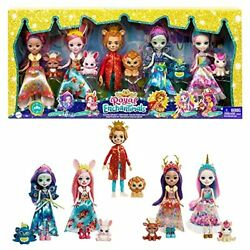 Enchantimals Royal Multipack With 5 Dolls 6-in And 5 Animal Figures Includes ...