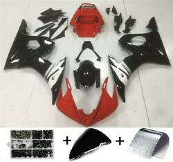 Abs Plastic Fairing Fit For Yamaha Yzf R1 2000-2014 Yzfr6 1998-2016 T8