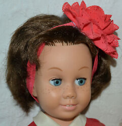 Vintage Mattel Canadian Brunette Chatty Cathy Doll 1960